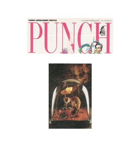 Punch Magazine 1989 - Simon Costin's exhibition.
